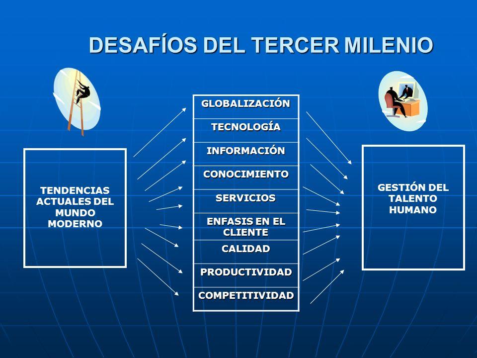 DESAFÍOS DEL TERCER MILENIO