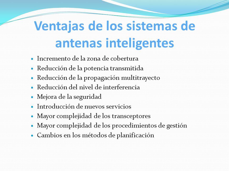 Ventajas de los sistemas de antenas inteligentes