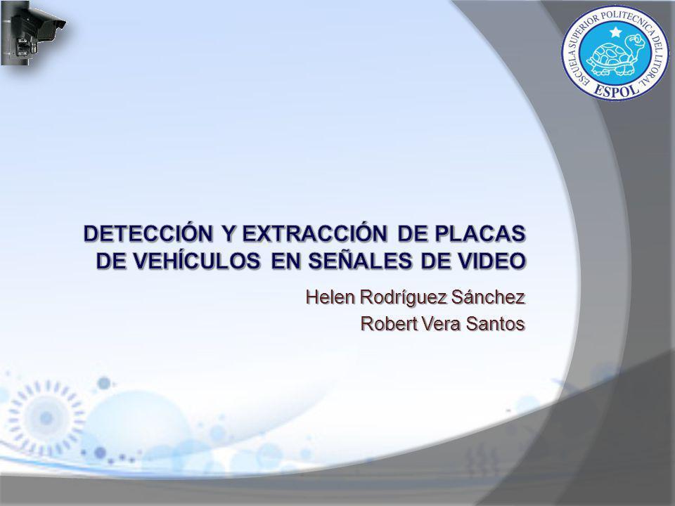 Detección y extracción de placas de vehículos en señales de video