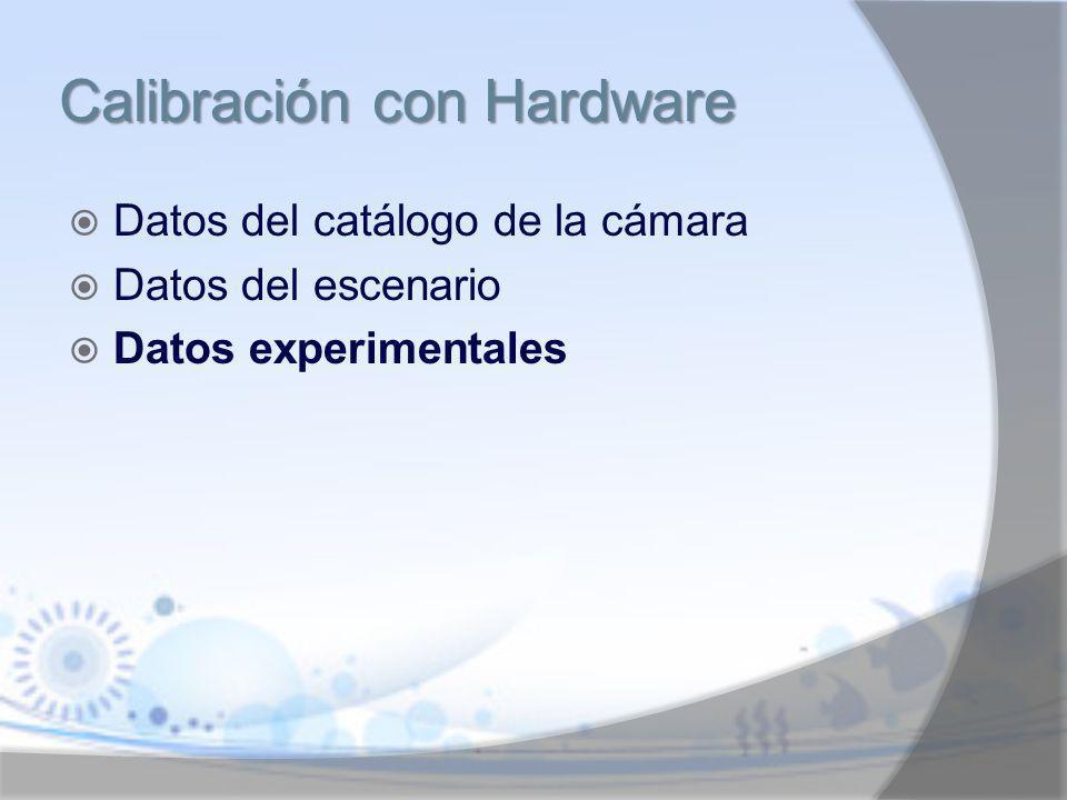 Calibración con Hardware