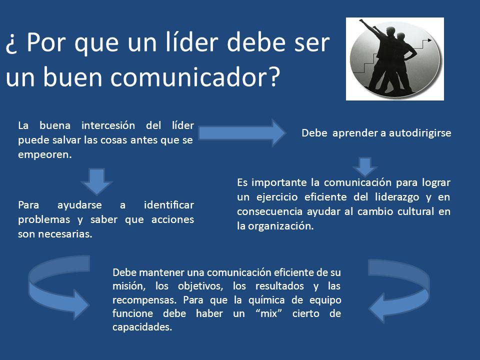 ¿ Por que un líder debe ser un buen comunicador
