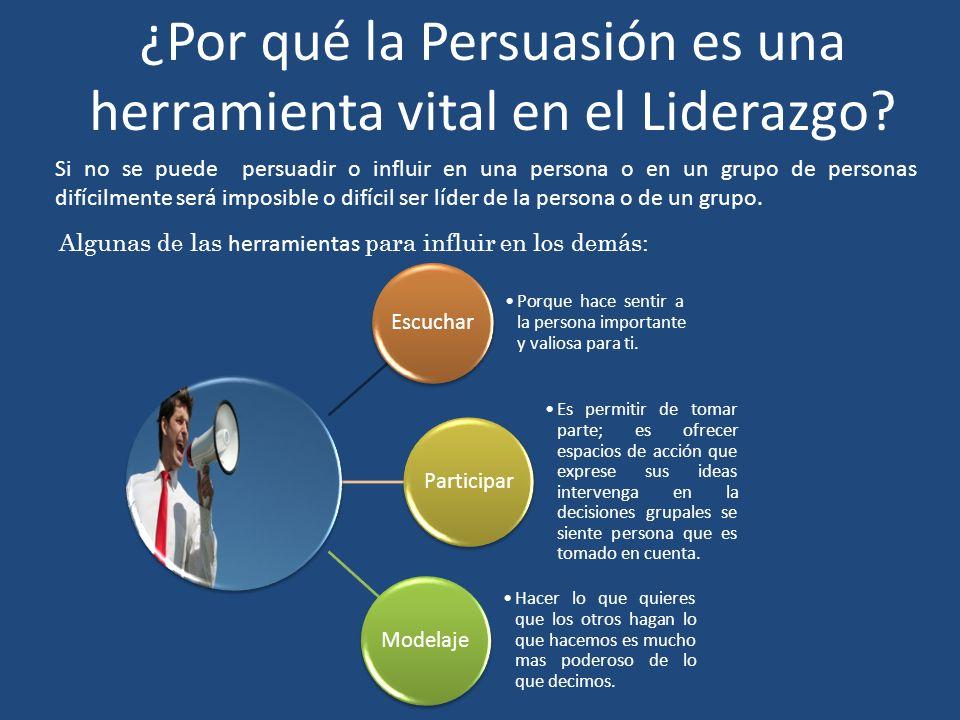 ¿Por qué la Persuasión es una herramienta vital en el Liderazgo