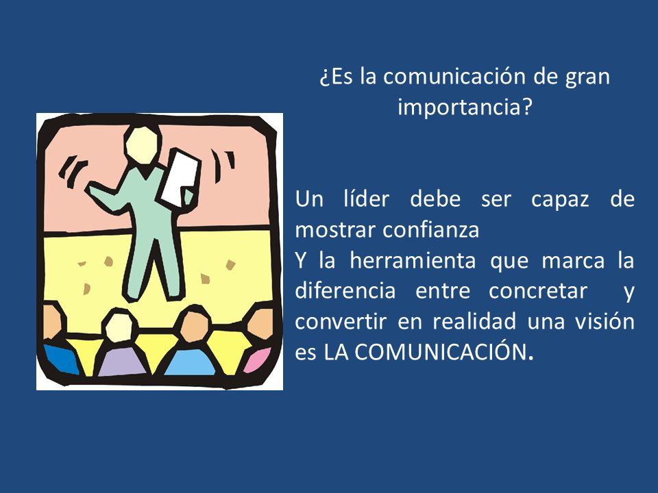 ¿Es la comunicación de gran importancia
