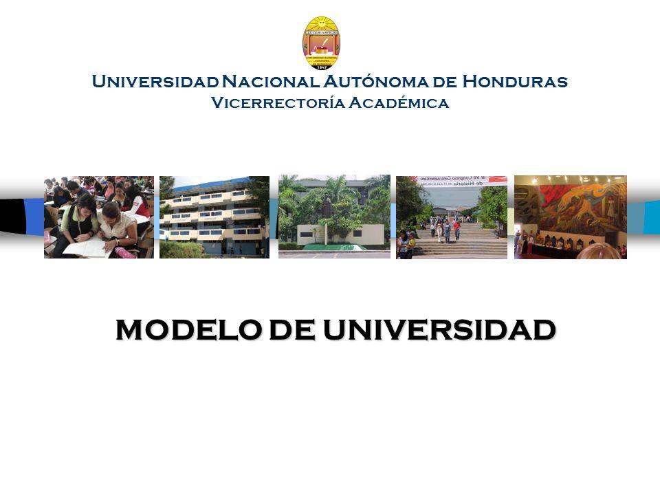 Universidad Nacional Autónoma de Honduras Vicerrectoría Académica