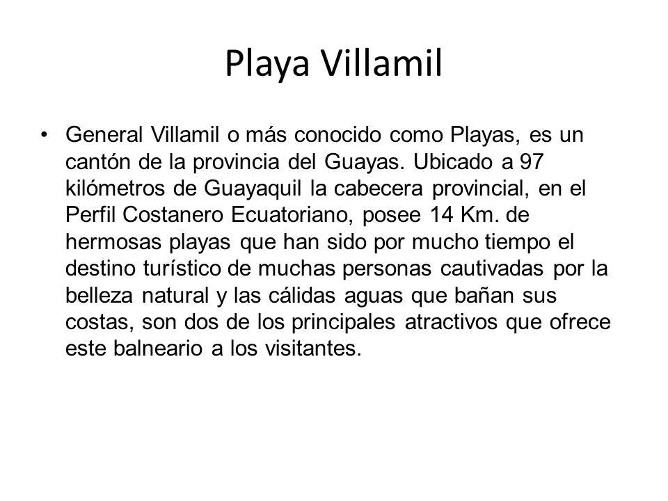 Playa Villamil