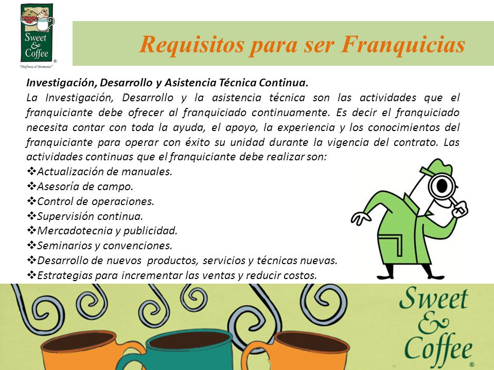Requisitos para ser Franquicias