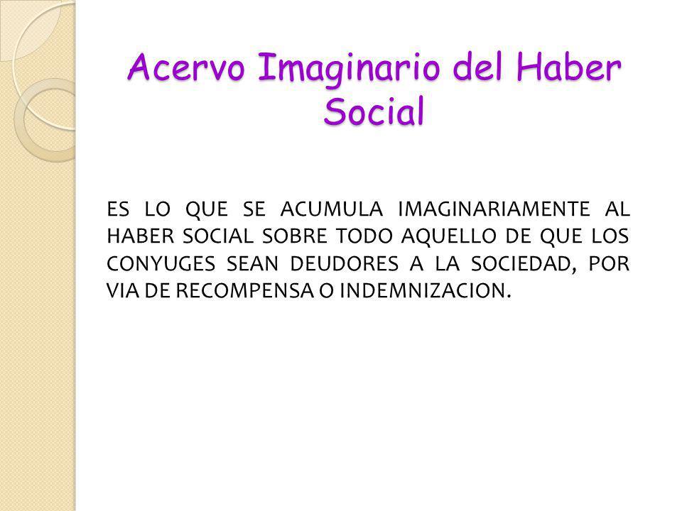 Acervo Imaginario del Haber Social