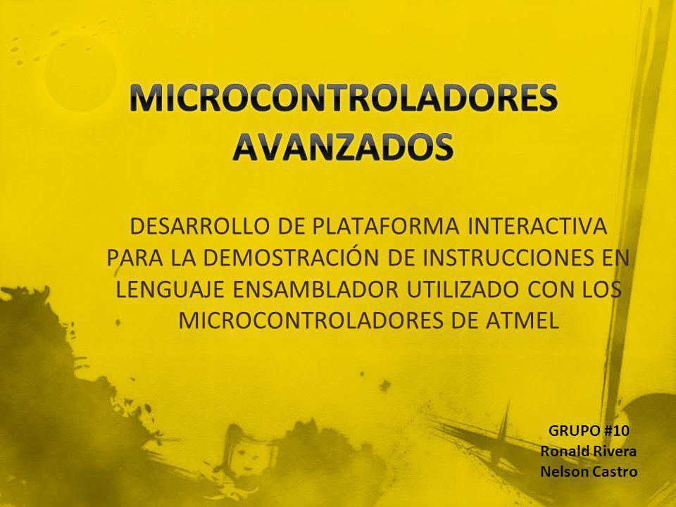 MICROCONTROLADORES AVANZADOS
