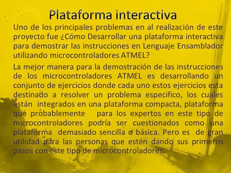 Plataforma interactiva