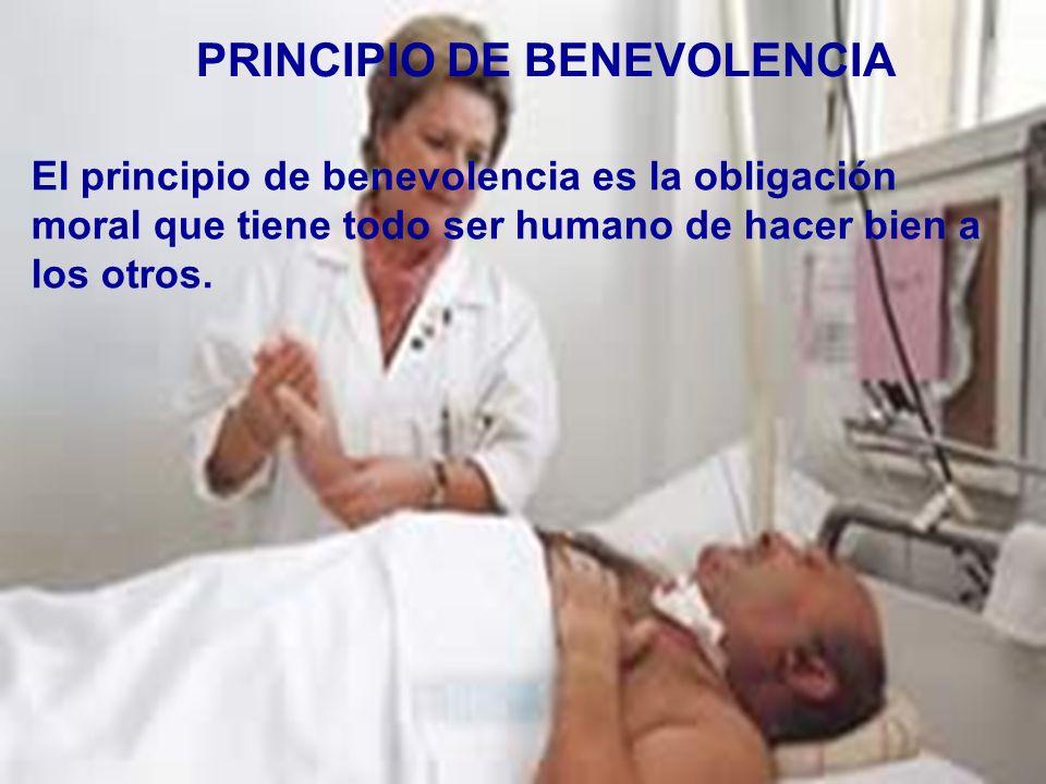 PRINCIPIO DE BENEVOLENCIA