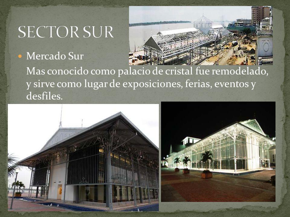 SECTOR SUR Mercado Sur.