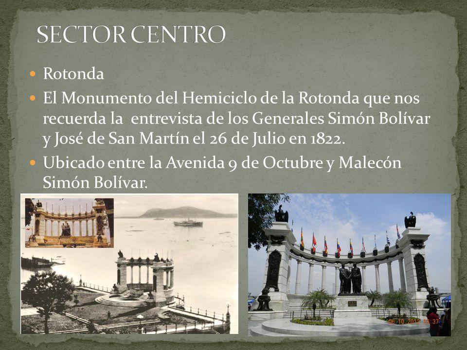 SECTOR CENTRO Rotonda.