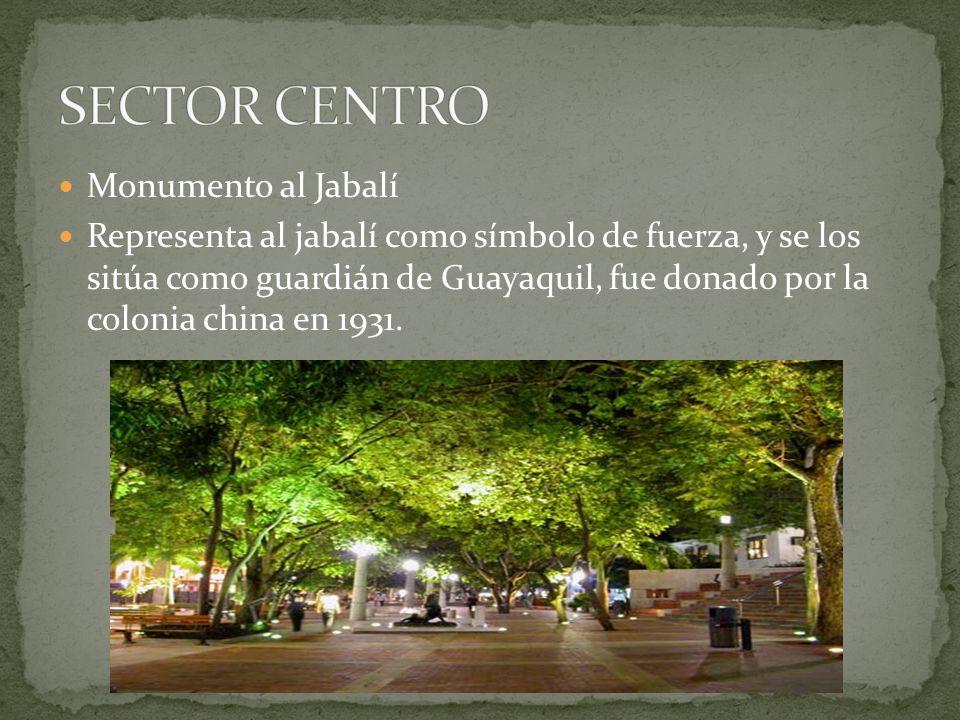 SECTOR CENTRO Monumento al Jabalí