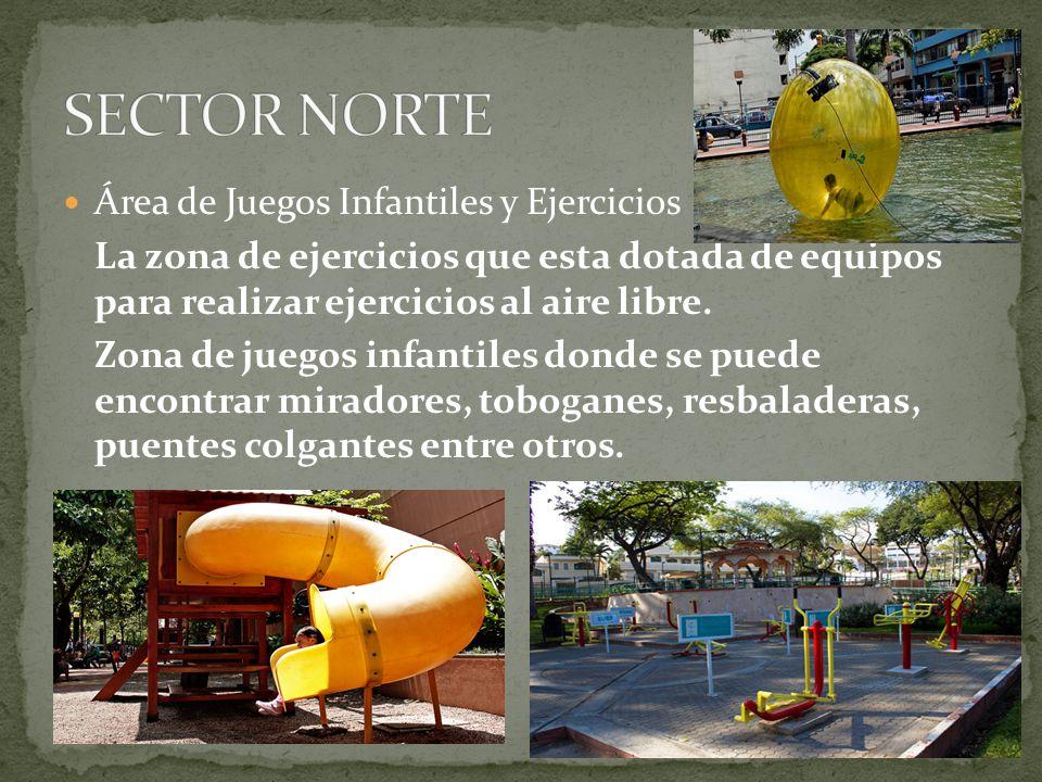 SECTOR NORTE Área de Juegos Infantiles y Ejercicios
