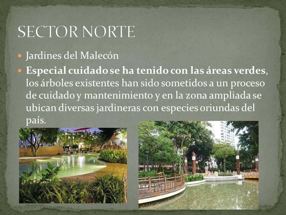SECTOR NORTE Jardines del Malecón