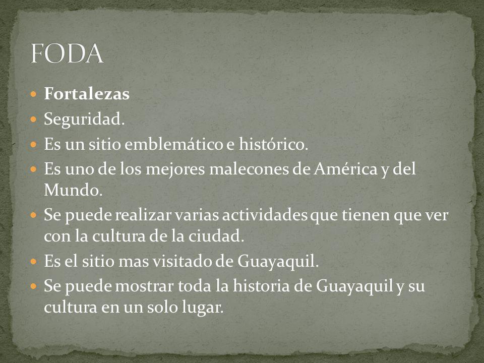 FODA Fortalezas Seguridad. Es un sitio emblemático e histórico.