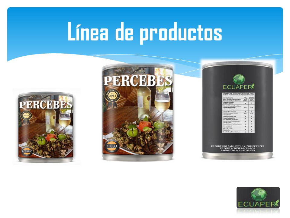 Línea de productos