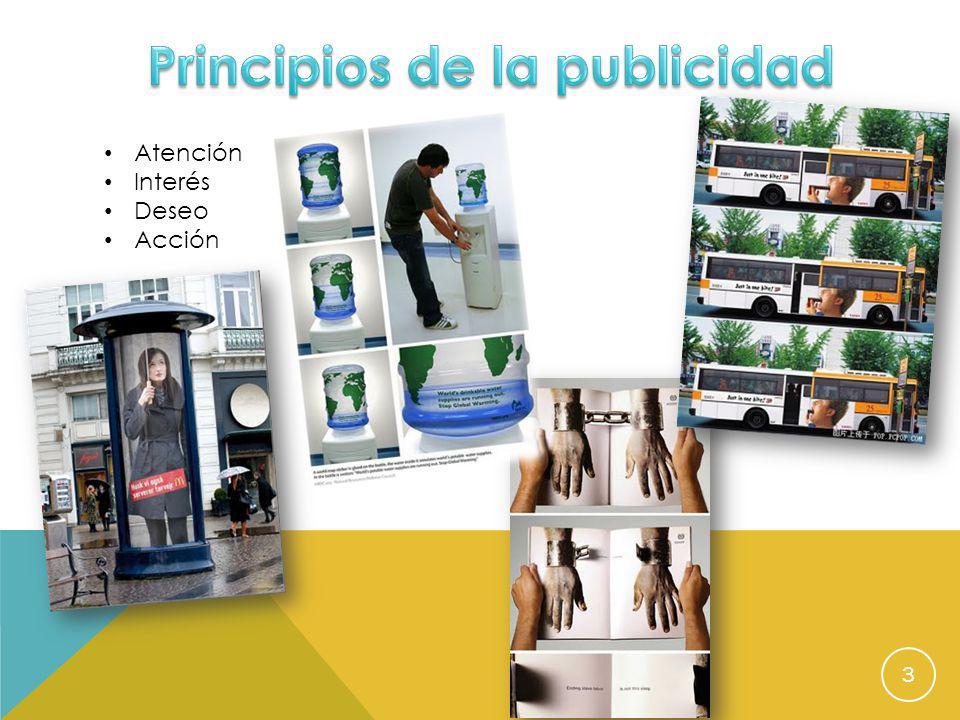 Principios de la publicidad