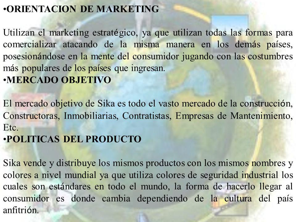 ORIENTACION DE MARKETING