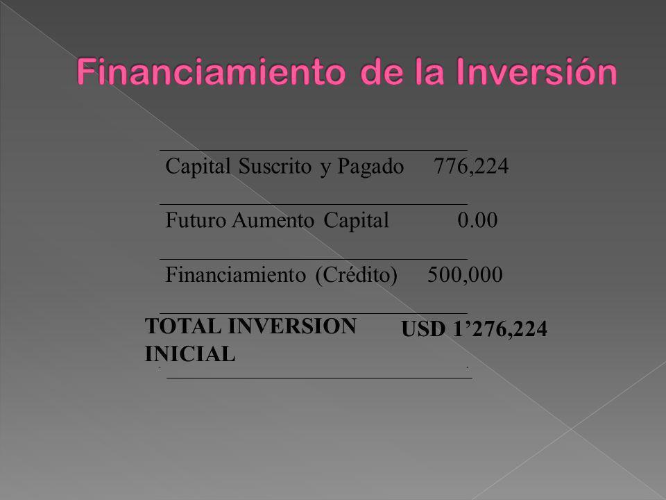 Financiamiento de la Inversión