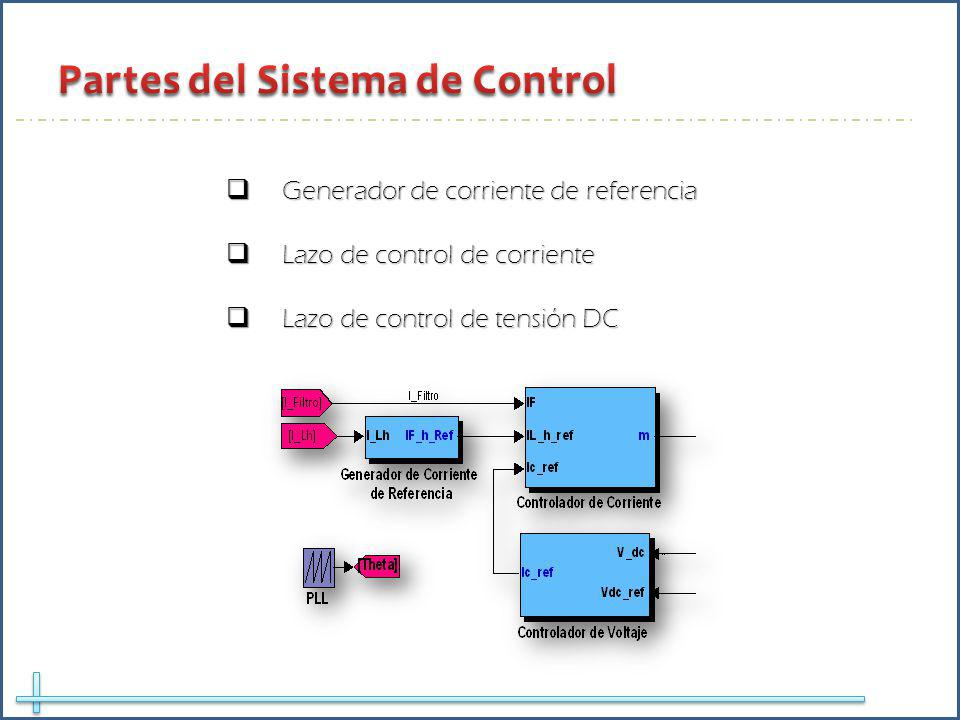 Partes del Sistema de Control