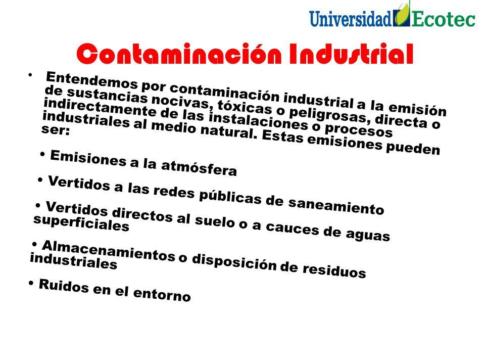 Contaminación Industrial