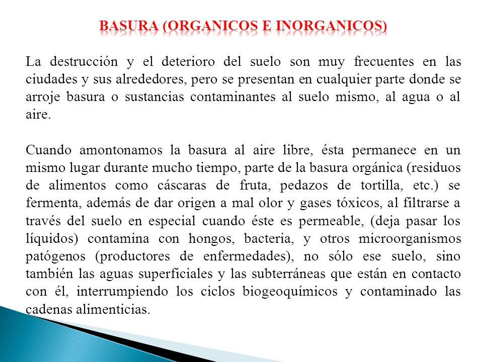 baSURA (Organicos e inorganicos)