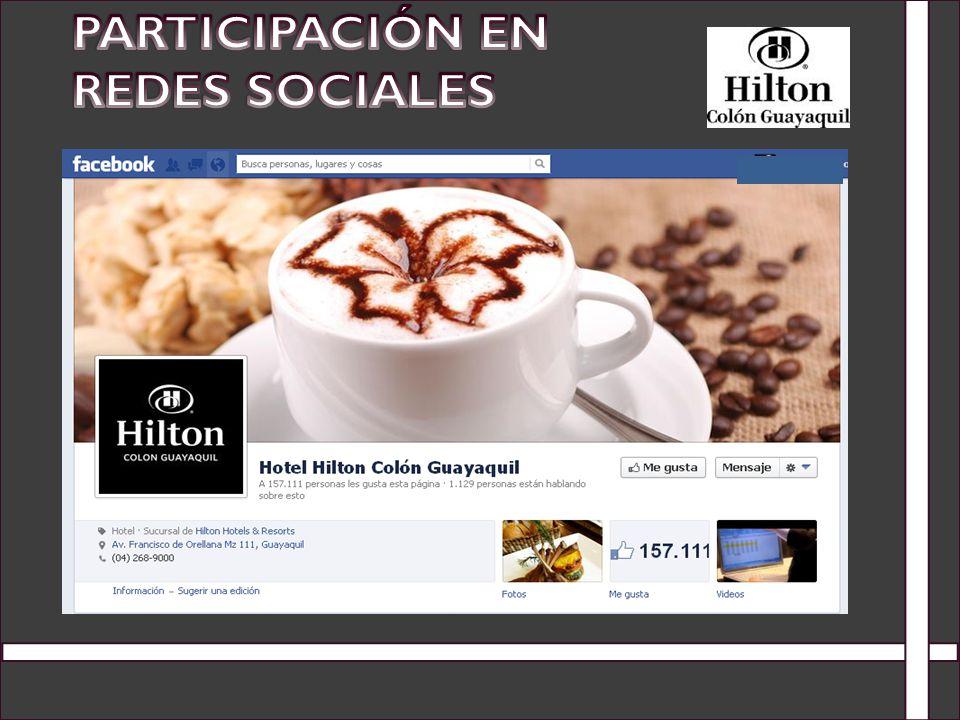 Participación en Redes Sociales