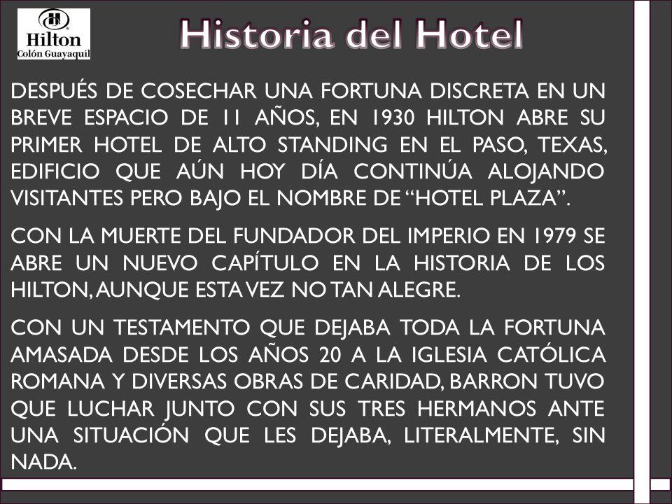 Historia del Hotel