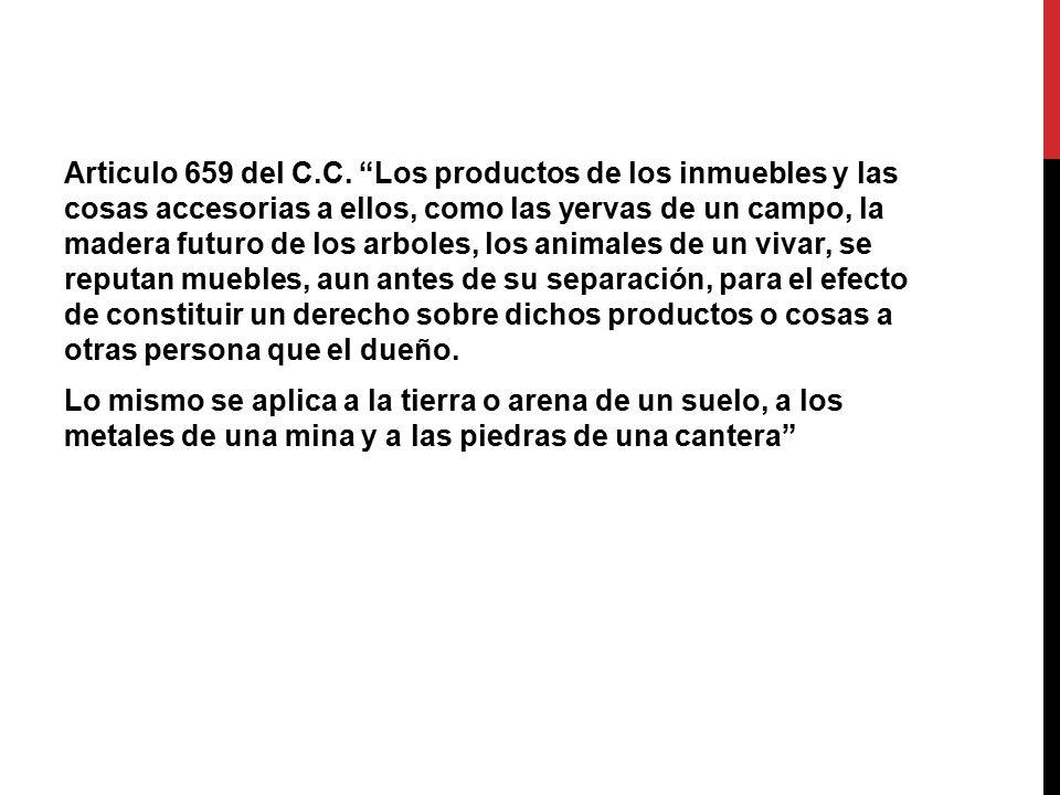 Articulo 659 del C.C.