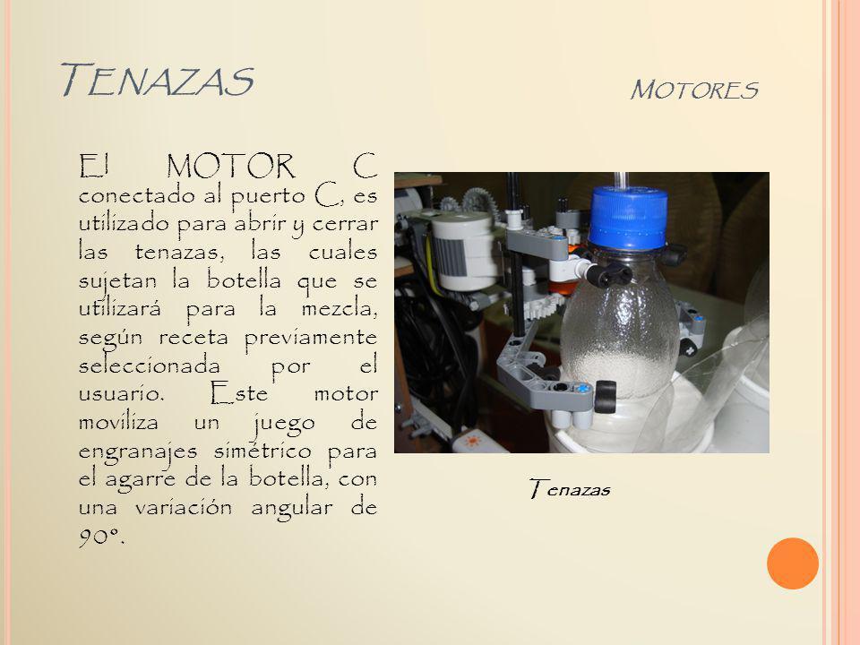 Tenazas Motores.