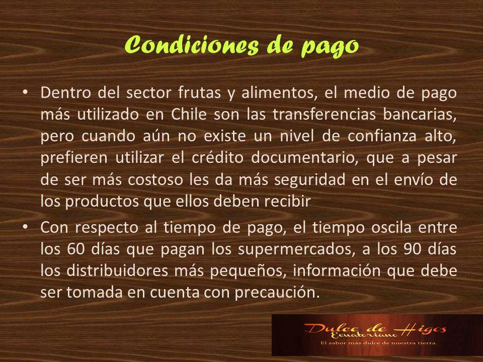 Condiciones de pago