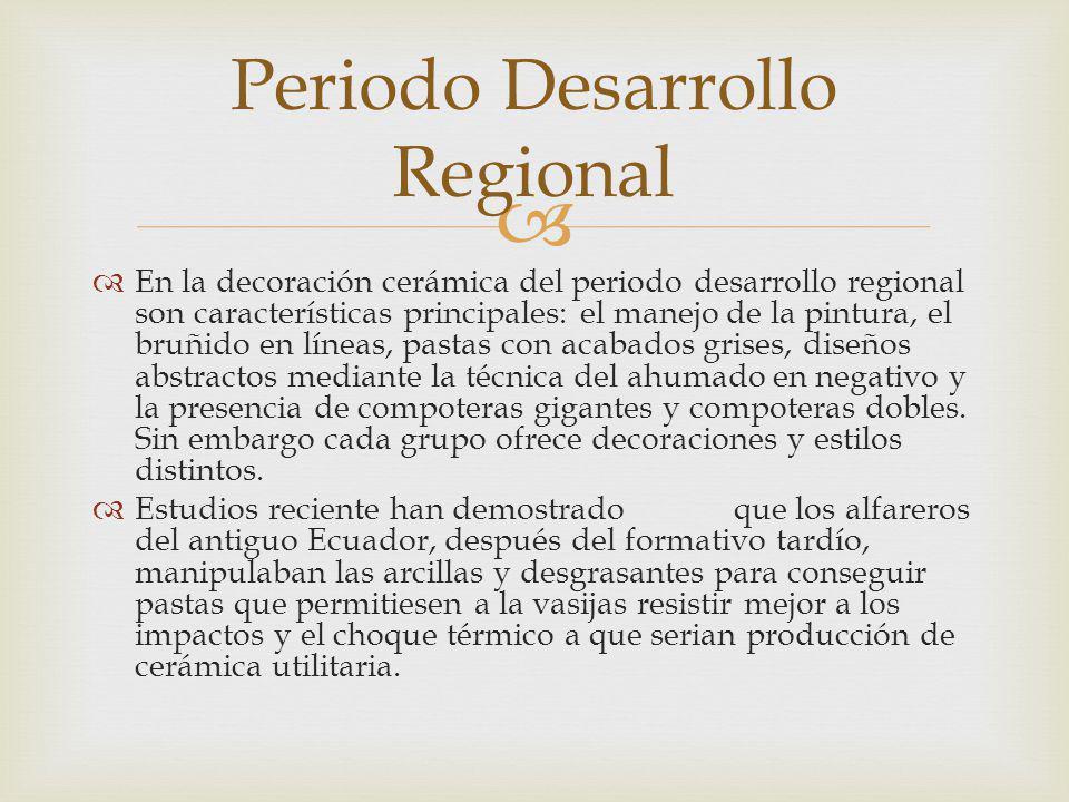 Periodo Desarrollo Regional