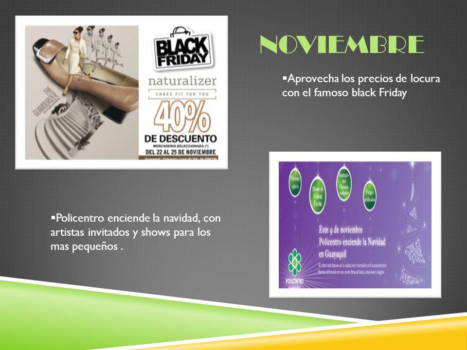 noviembre Aprovecha los precios de locura con el famoso black Friday
