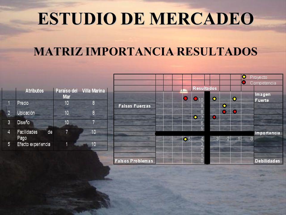 MATRIZ IMPORTANCIA RESULTADOS