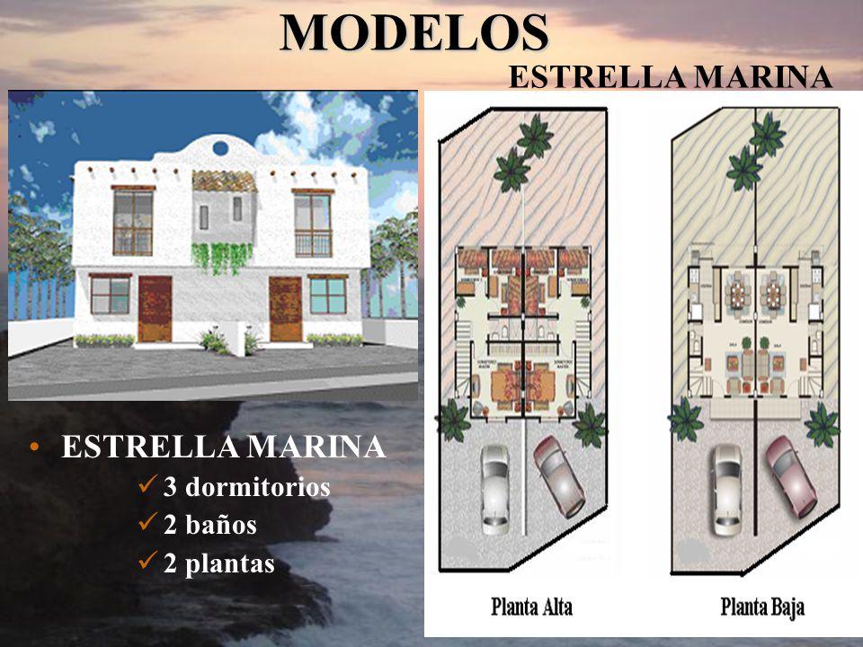 MODELOS ESTRELLA MARINA ESTRELLA MARINA 3 dormitorios 2 baños