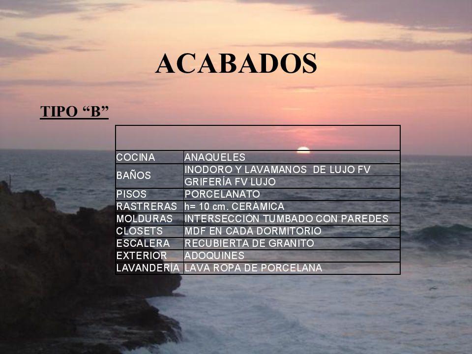 ACABADOS TIPO B