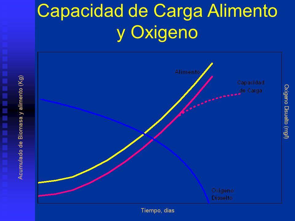 Capacidad de Carga Alimento y Oxigeno