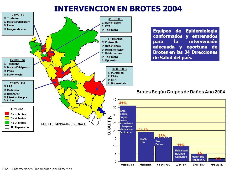 INTERVENCION EN BROTES 2004