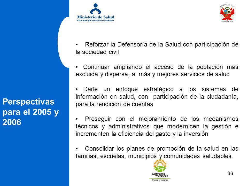 Reforzar la Defensoría de la Salud con participación de la sociedad civil