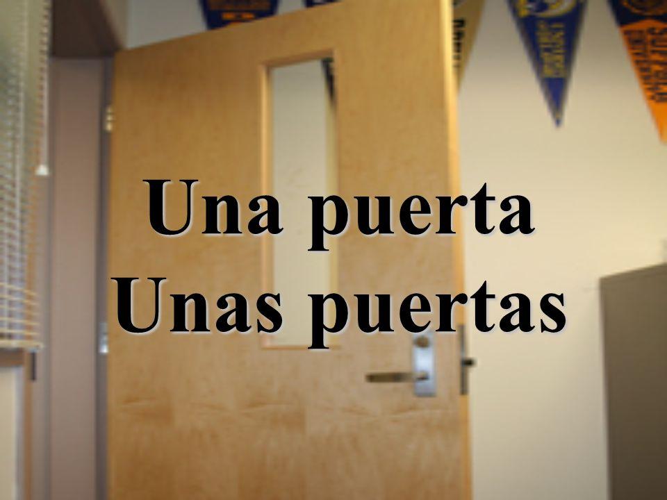 Una puerta Unas puertas