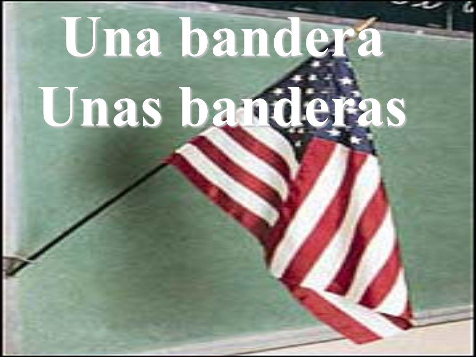 Una bandera Unas banderas