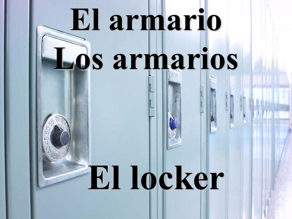 El armario Los armarios