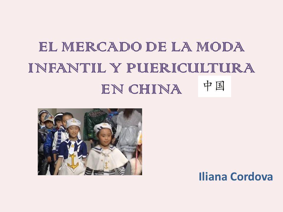 EL MERCADO DE LA MODA INFANTIL Y PUERICULTURA EN CHINA