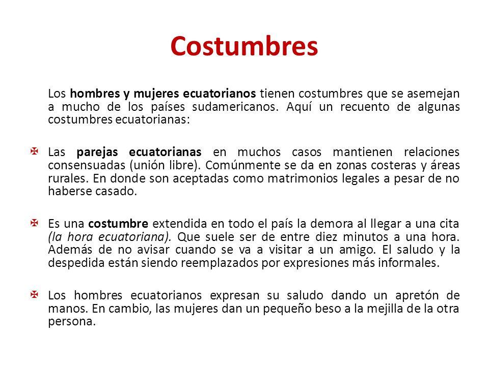 Costumbres