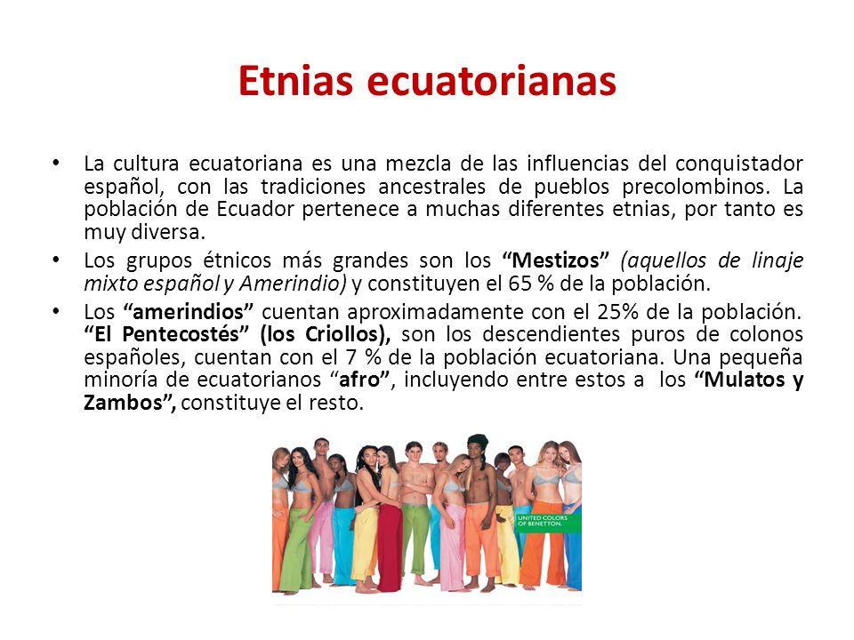 Etnias ecuatorianas