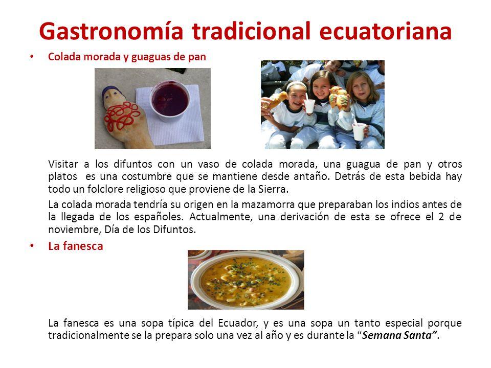 Gastronomía tradicional ecuatoriana