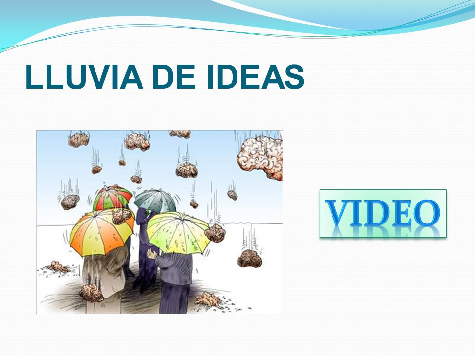 LLUVIA DE IDEAS Video