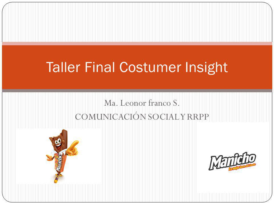 Taller Final Costumer Insight