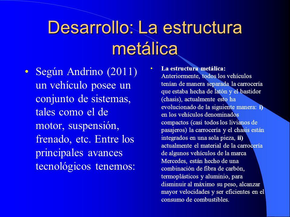 Desarrollo: La estructura metálica